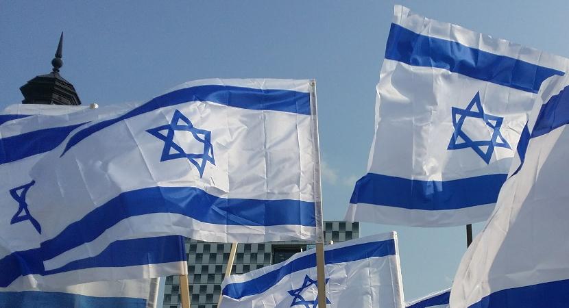 israel-flags